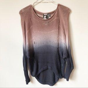Young Fabulous & Broke Dip Dye Sweater